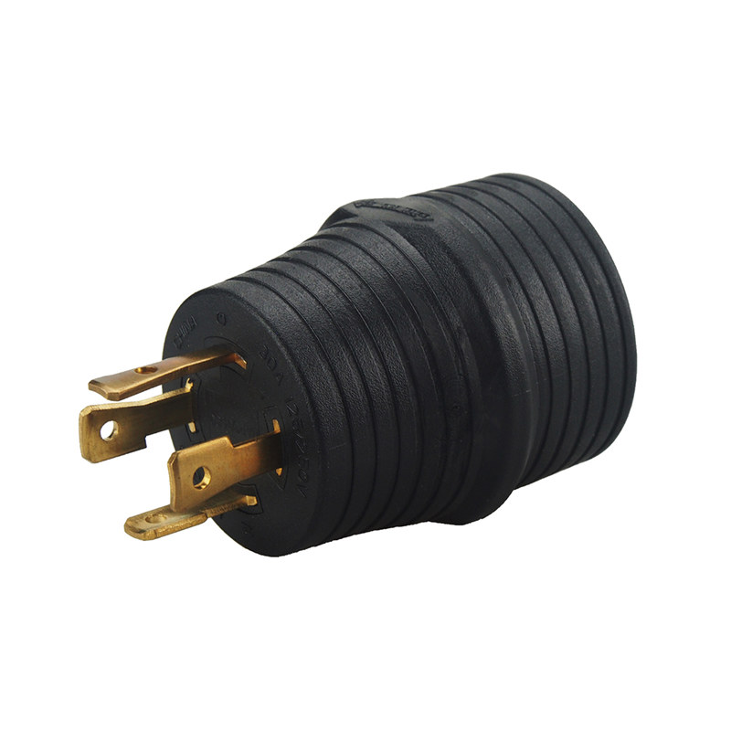 Leisure Cords 30AMP 4 Prong Nema 14-30P-TT-30R Generator Adapter Plug RV